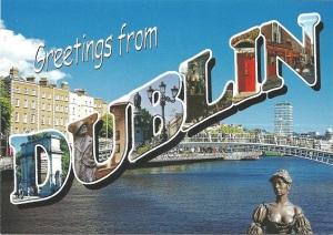 Postcard Dublin