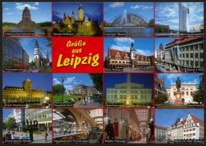 Postcard Leipzig