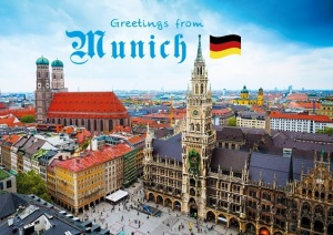 Postcard Munich