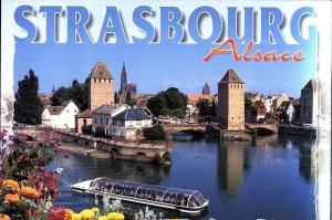 Postcard Strasbourg